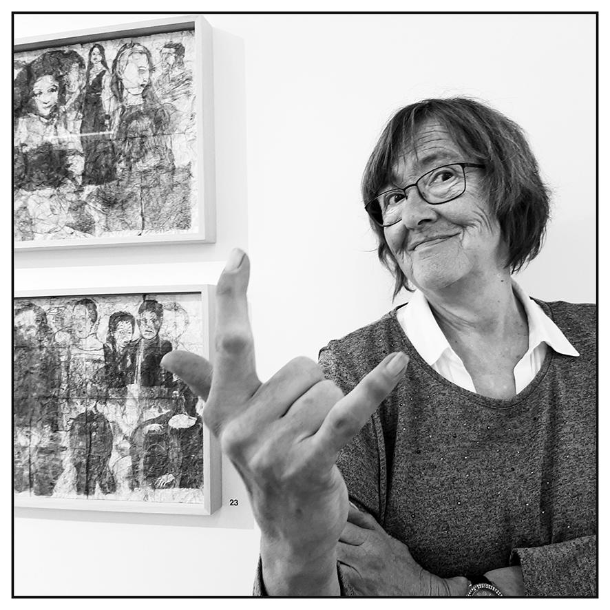 Christiane Dewaele au Trinkhall museum